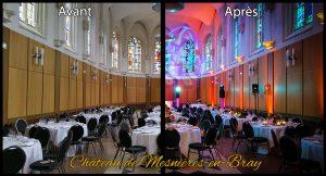 Mariage au Chateau de mesnieres en bray_avant après